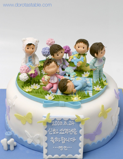 11周年ケーキ