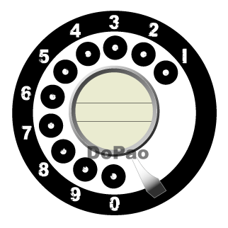 600TYPE 黒電話 オリジナルデザイン