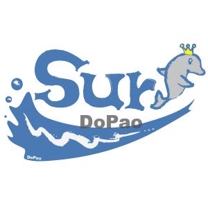 イルカのサーフアー オリジナルデザイン