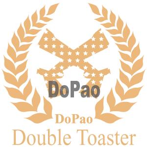 Double Toaster 2丁のガン オリジナルデザイン