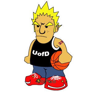 バスケ少年 オリジナルデザイン バスケット