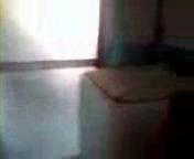 携帯のビデオカメラが捉えた貞子みたいな黒い女の幽霊
