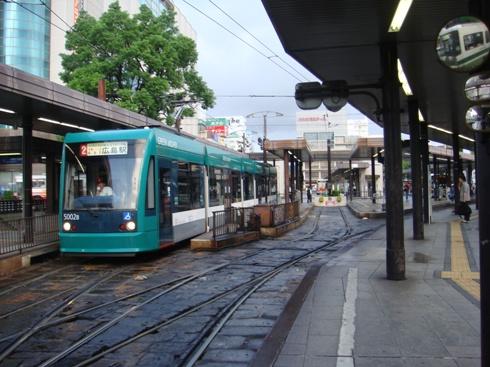 広島 814路面電車