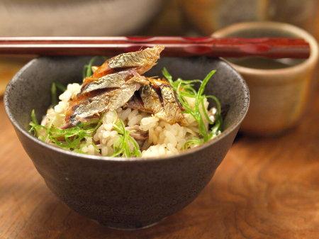 秋刀魚土鍋ご飯16