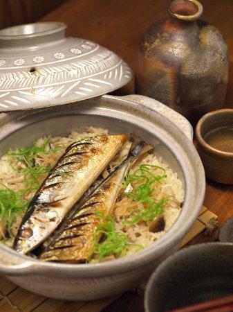 秋刀魚土鍋ご飯10
