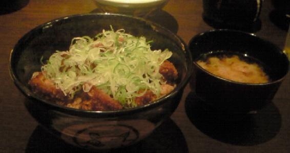 ヒレ味噌カツ丼