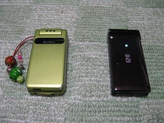 携帯新旧②