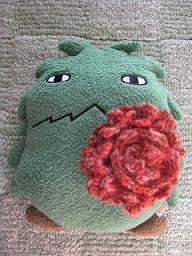 毛糸のお花2