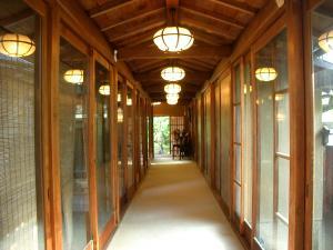 菊水楼渡り廊下