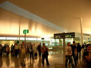 バルセロナ空港2