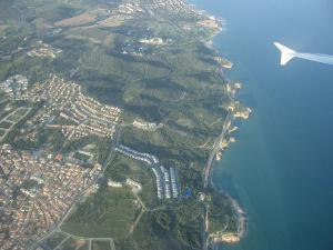 バルセロナ上空1