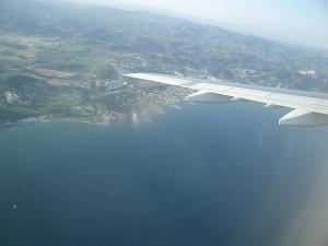 バルセロナ上空2