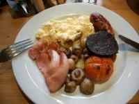 ユニコーンホテルの朝食