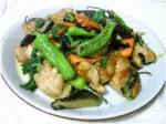 鶏肉の中華炒め