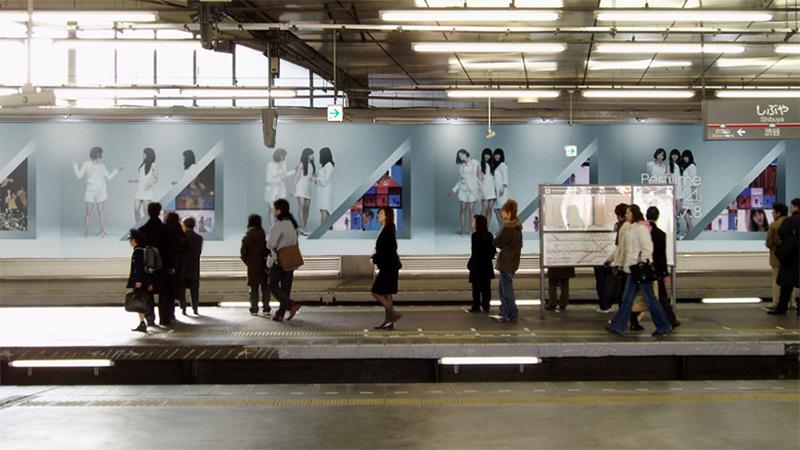 渋谷広告 自作画像