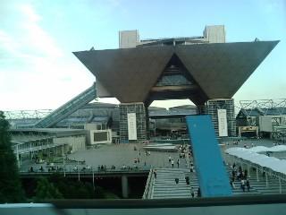 夏コミ会場(東京ビッグサイト)