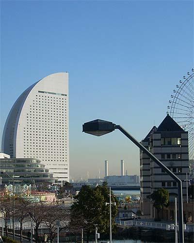20090119街灯とインターコンチ