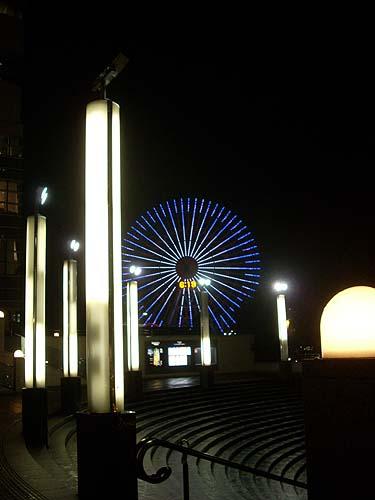 20090128観覧車と街灯