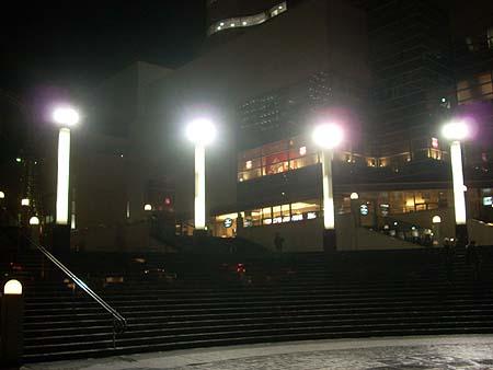 20090128階段と街灯