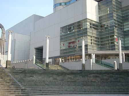 20090203階段と街灯②