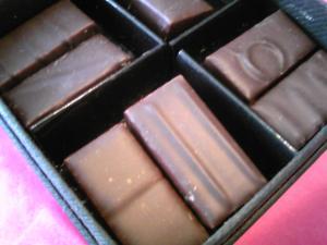 「花と香りのチョコレート」クリスチャン・コンスタン パリ(フランス)
