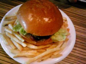 「ハンバーガー」デノリーズ ダイナー(南阿蘇)
