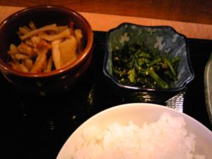 「定食の小鉢」花のれん(春日市)
