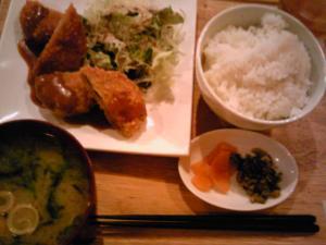「コロッケ定食」Kazuyaのごはん(福岡市)