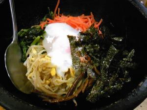 「石焼ビビンバ」菜ずき(福岡市)