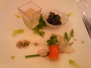 「前菜」ホテルオークラ福岡