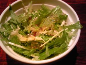 「ランチのサラダ」レックスのスパゲッティ(福岡市)