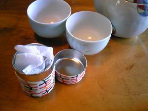 「自家栽培のお茶」山荘 紗羅樹(湯布院)