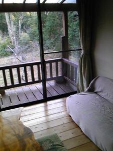 「窓からの景色」山荘 紗羅樹(湯布院)