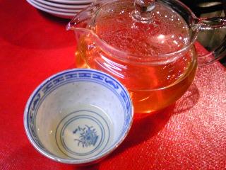 「ジャスミン茶」中華海鮮 威海(福岡市)