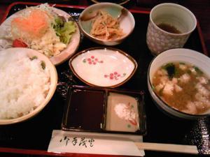 「串揚げ定食」禅(福岡市)