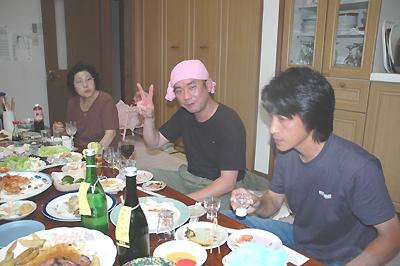 小馬崎さん 宴会&試飲会