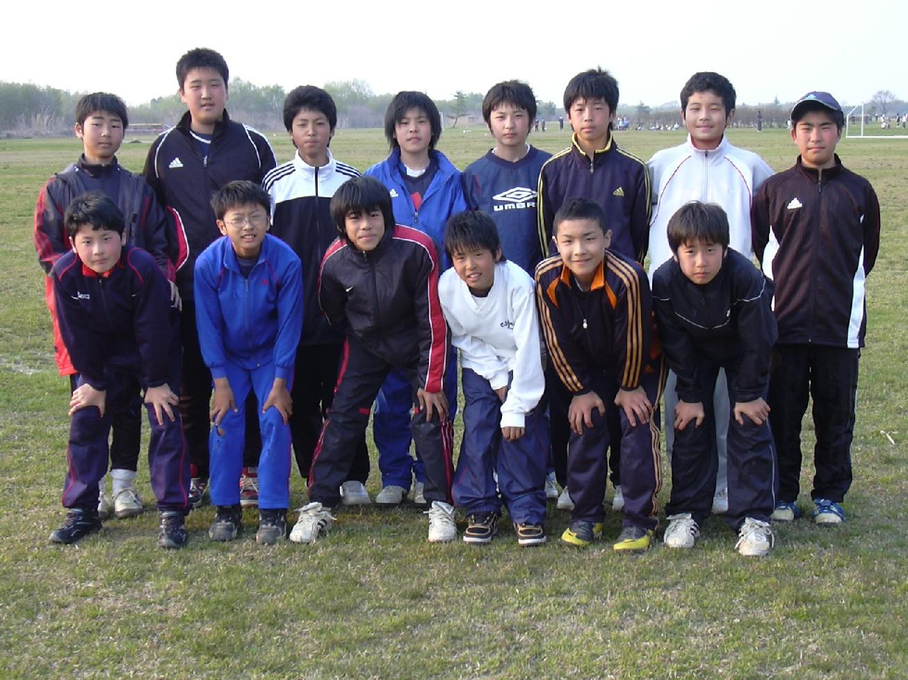2009エスプリU-15 総勢14名