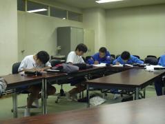 まじめに勉強中