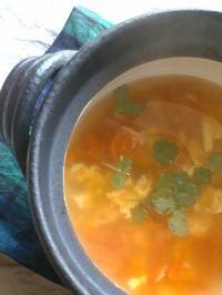 ほかほか、スープ。