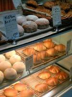 カフェのパン。