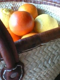 キイロとオレンジ。