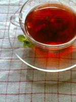 あかい、紅茶。
