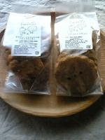 クッキー2種。