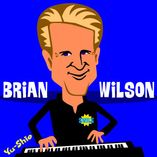 Brian Wilson Beach Boys caricature