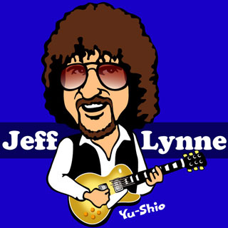 Jeff Lynne caricature