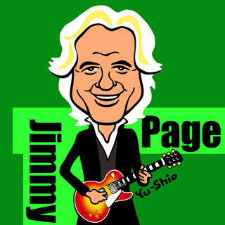 jimmy page caricature