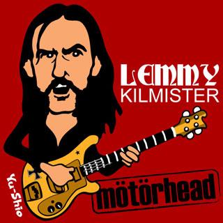 Lemmy Kilmister Motorhead Caricature