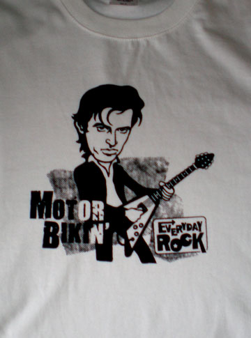 Chris Spedding EverydayRock T Shirt Caricature