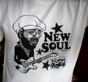 EverydayRock T Shirt Curtis Mayfield Caricature