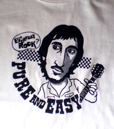 pete townshend EverydayRock T Shirt Caricature